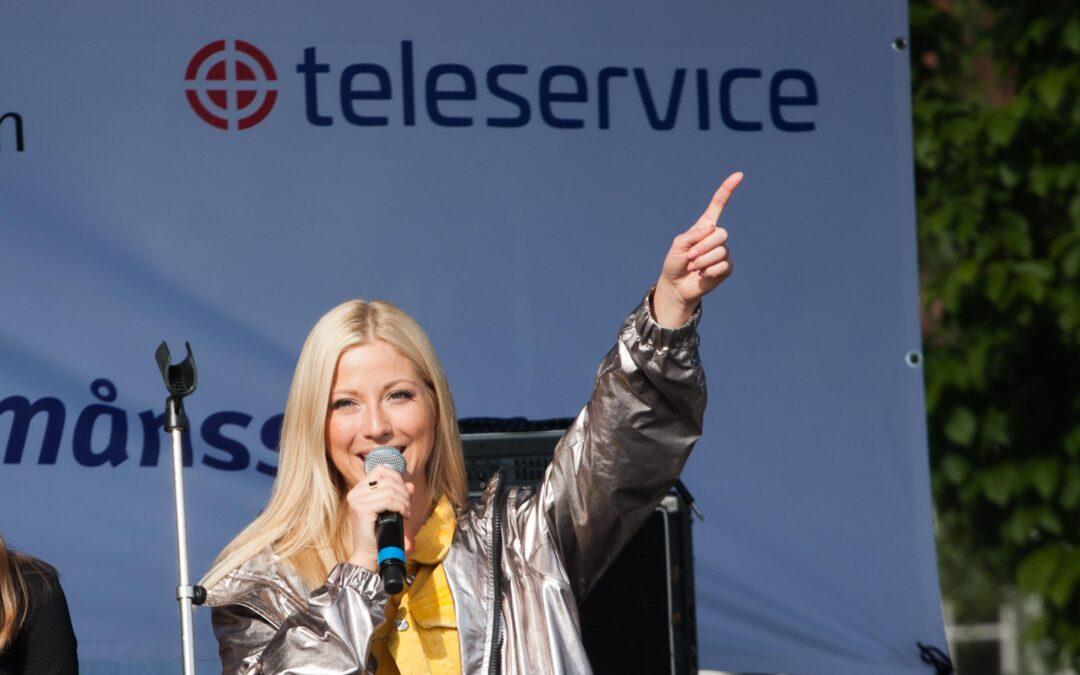 Teleservice fixade showen på Hörby KulturKalas