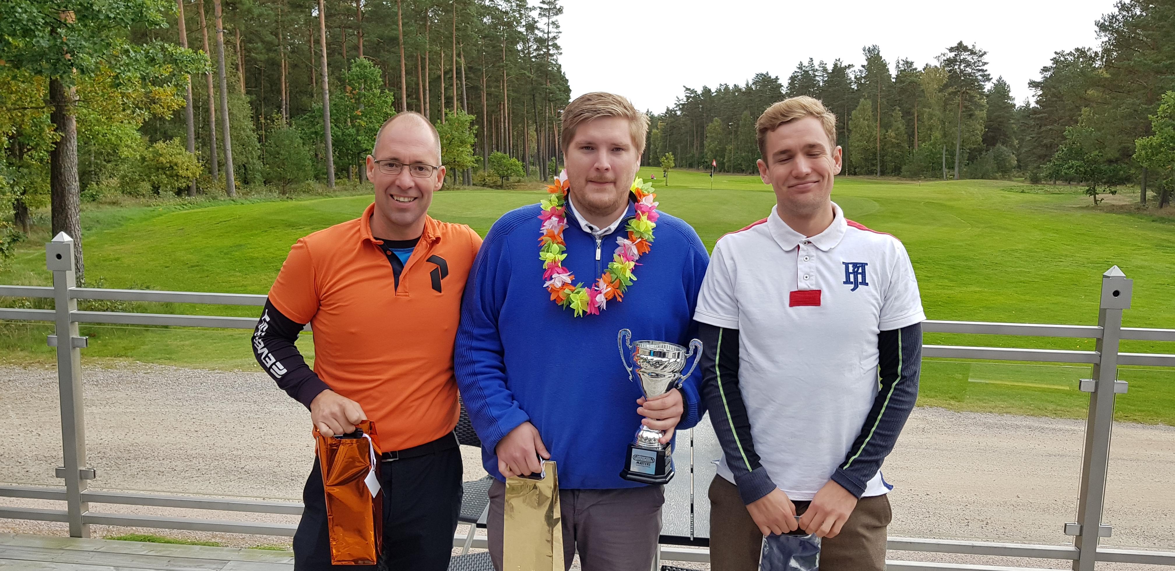 Björn är den nye mästaren i golf!