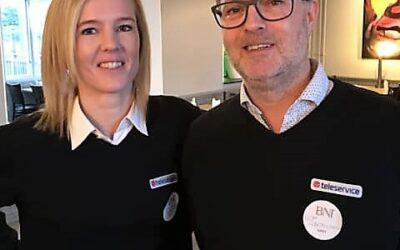 Teleservice går med i BNI Syd Ystad!