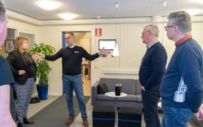 IFK Ystad-nätverket fick lära sig mer om Teleservice