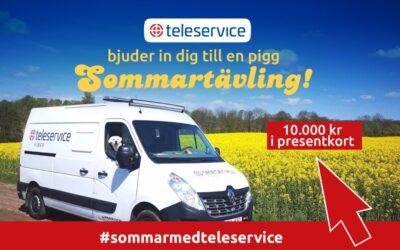 Tävling – #sommarmedteleservice