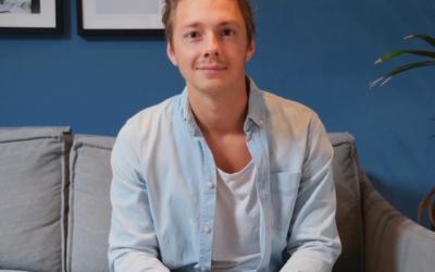IT-konsulten Pierre har utvecklats och växt inom Teleservice